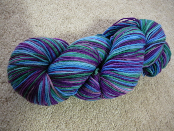 Ellen's 1-2 Pint tencel sock yarn