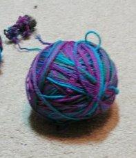 Lorna's Laces shepard sock