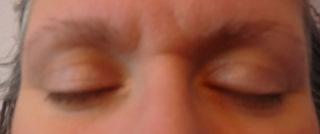 Step Four - closed eyes