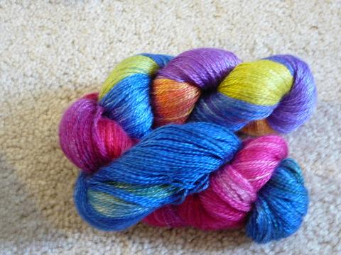 Tess Petite Silk Rainbow