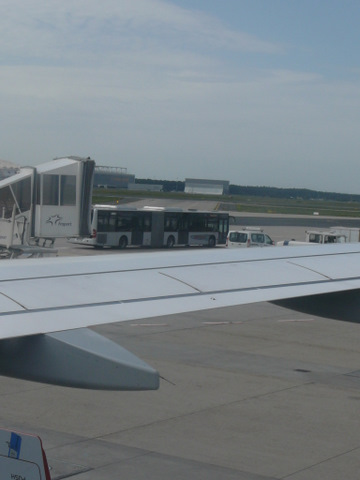 Frankfurt Airport Apron Docking