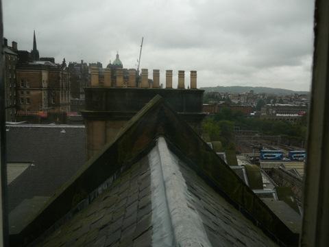 Scotsman view from room  8-12-2011 9-05-08 AM