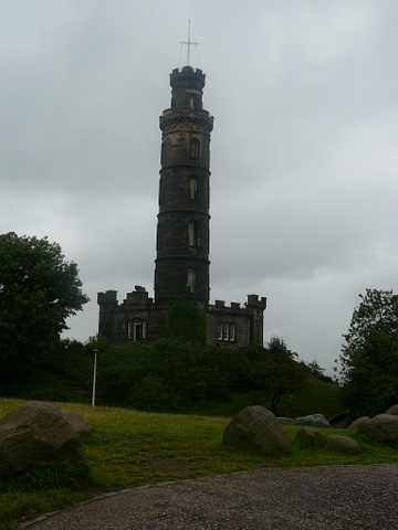 Nelson Monument - Calton Hill - Edinburgh