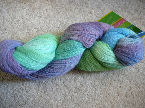 Fleece Artist Suri Blue Seafoam
