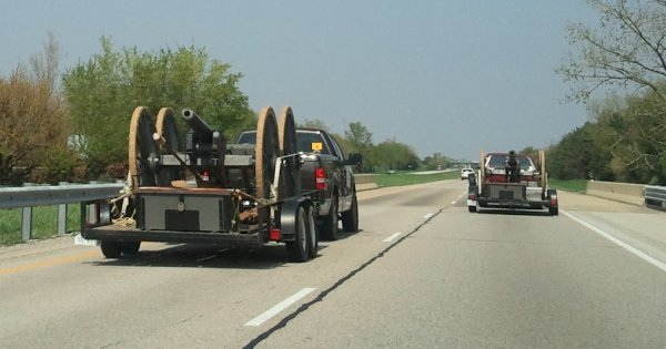 Canons on the road