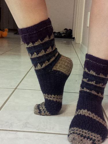 Sawtooth Socks 2