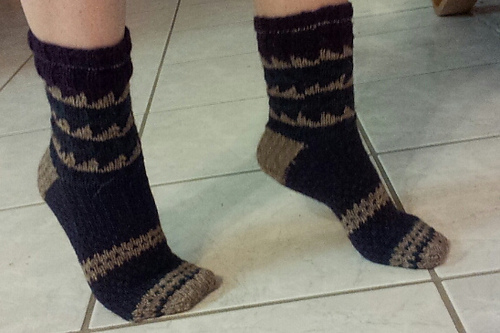 Sawtooth Socks