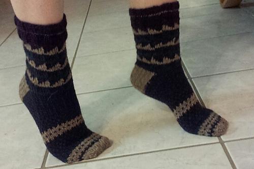 Sawtooth Socks