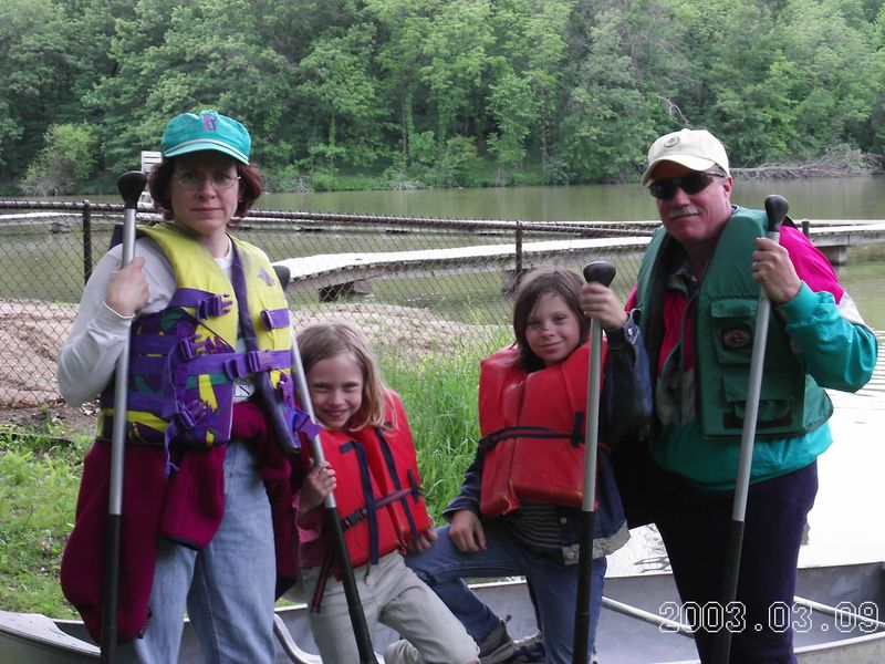 All of the Intrepid Canoers
