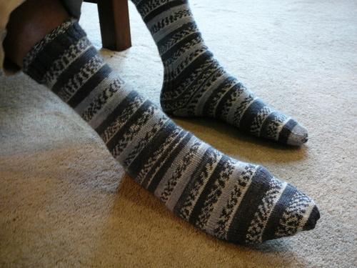 DH's Harlequin Socks