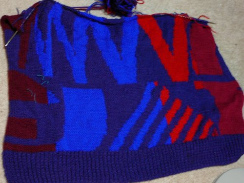 Bergere de France Sweater for DH - Mission Accomplished