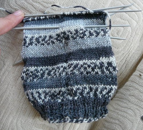 Harlequin Socks - Finished (Accomplished)